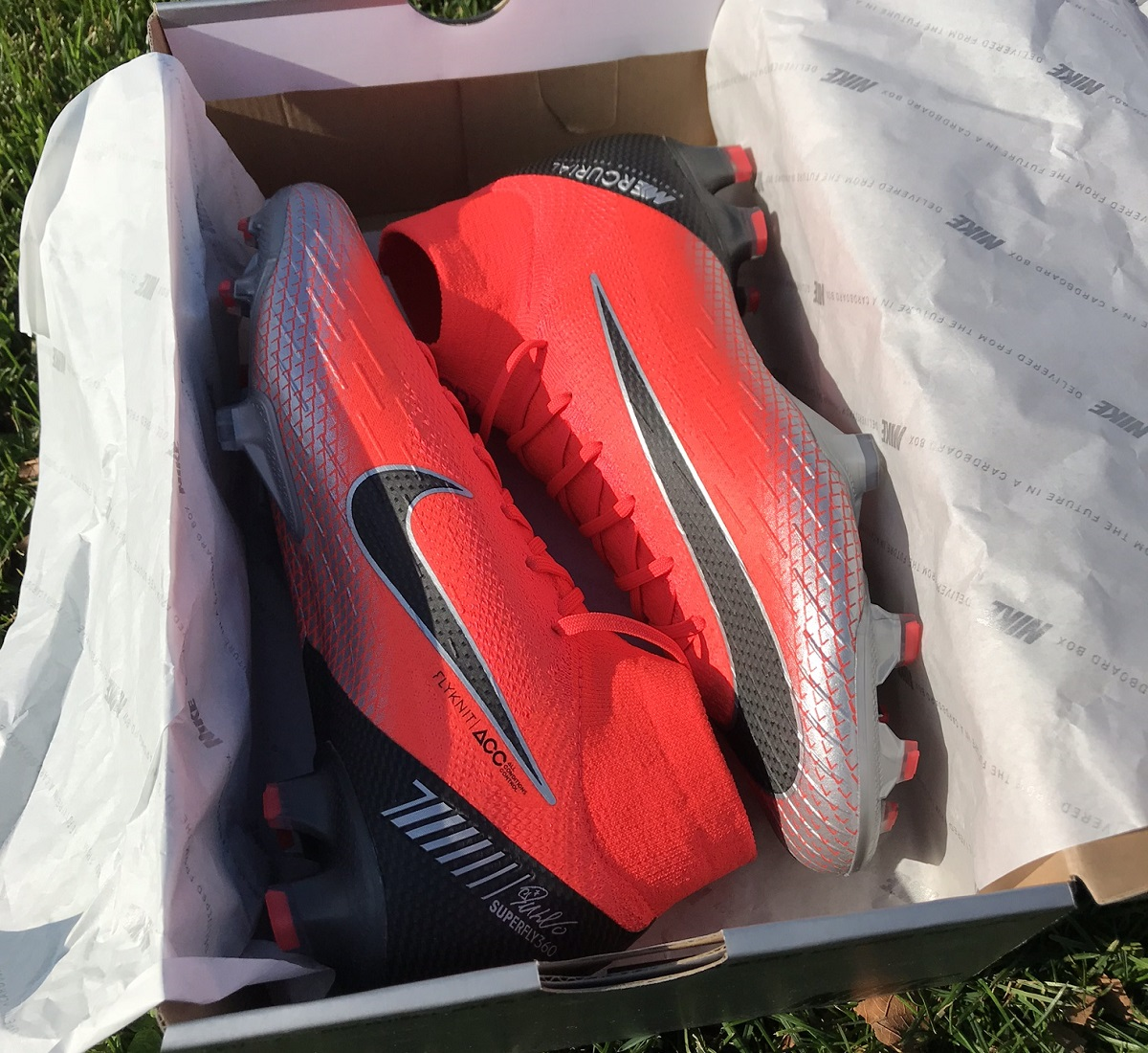 0551c1fdf874 Unboxing Nike Mercurial Superfly CR7 Chapter 7